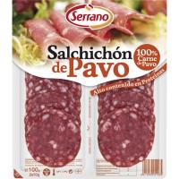 Salchichón de pavo SERRANO, bandeja 100 g