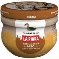 Paté de pato parmesano LA PIARA, tarro 100 g