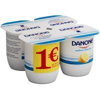 Yogur sabor a limón DANONE, pack 4x125 g