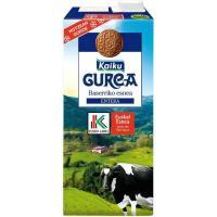 Leche Fresca Entera Eusko Label GUREA, brik 1 litro