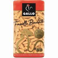 Pasta Fusilli Bucati GALLO, paquete 425 g