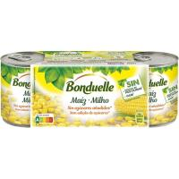 Maíz tierno dulce BONDUELLE, pack 3x140 g