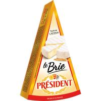 Queso Brie PRESIDENT, cuña 200 g