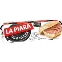 Paté LA PIARA Tapa Negra, pack 3x75 g