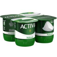 Activia natural DANONE, pack 4x125 g