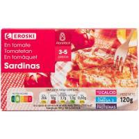 Sardinas en salsa de tomate