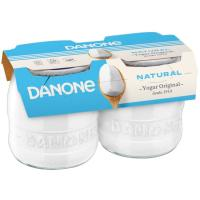 Yogur natural enriquecido DANONE Original, pack 2x135 g