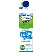 Leche Semidesnatada Calcio ASTURIANA, brik 1 litro