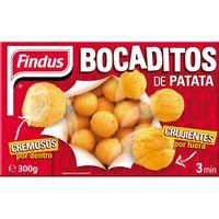 Bocadito de patata FINDUS, caja 300 g