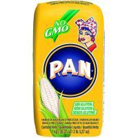 Harina de maíz PAN, paquete 1 kg