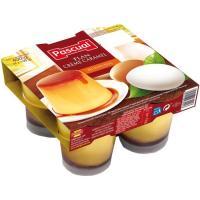 Flan de huevo PASCUAL, pack 4x100 g