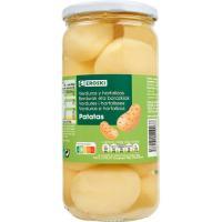 Patata entera EROSKI, frasco 350 g