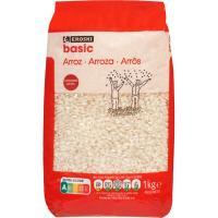 Arroz redondo extra EROSKI basic, paquete 1 kg