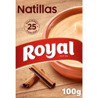 Natillas caseras ROYAL, caja 100 g