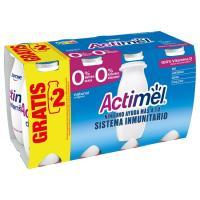 Actimel para beber natural 0% DANONE, pack 6x100 ml