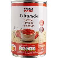 Tomate triturado EROSKI basic, lata 400 g