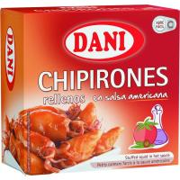 Chipirón relleno en salsa americana DANI, lata 102 g