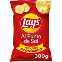 Patatas fritas al punto de sal LAY'S, bolsa 300 g