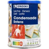 Leche Condensada EROSKI, lata 740 g