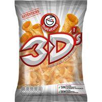 Snack de maíz sabor bácon MATUTANO Bugles 3D`s, bolsa 85 g