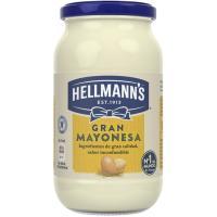 Mayonesa HELLMANNS, frasco 450 g