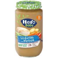 Tarrito de merluza con verduras HERO, tarro 235 g
