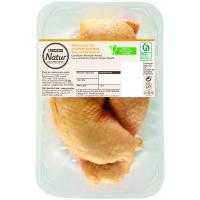 Muslos de pollo Eroski NATUR, 2 unid., bandeja aprox. 510 g