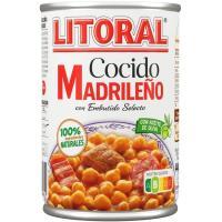 Cocido madrileño LITORAL, lata 440 g