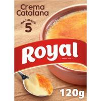 Crema catalana ROYAL, caja 120 g