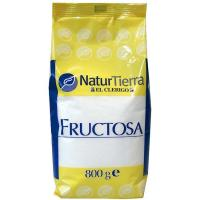 Fructosa NATUR TIERRA, paquete 800 g
