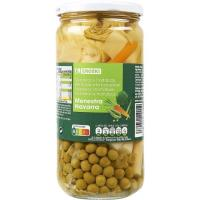 Menestra de verduras de Navarra EROSKI, frasco 425 g
