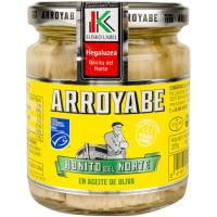 Bonito en aceite de oliva ARROYABE, frasco 227 g