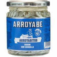 Arroyabitos de gulas con guindilla ARROYABE, frasco 230 g