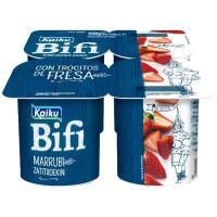 Bifi Activium con fresas KAIKU, pack 4x125 g