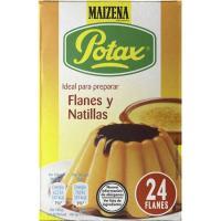 Flan POTAX, 6 unid., caja 192 g