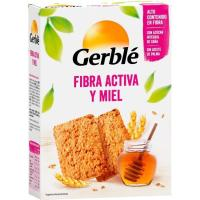 Galletas de fibra-miel GERBLE, paquete 400 g