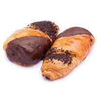 Cuerno relleno de cacao, bandeja 2 unid.