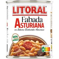 Fabada asturiana LITORAL, lata 865 g