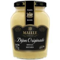 Mostaza de Dijon MAILLE, frasco 215 g