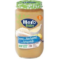 Tarrito de lenguado-bechamel HERO, tarro 235 g