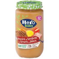 Potito jamón-ternera-verdura HERO, tarro 235 g