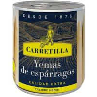 Yema de espárrago mediana CARRETILLA, lata 135 g