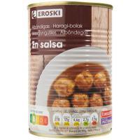 Albóndigas en salsa, lata