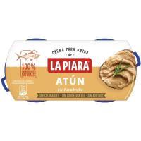 Paté de atún en escabeche LA PIARA, pack 2x82 g