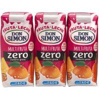 Funciona sabor multifrutas DON SIMÓN, pack 3x300 ml