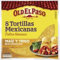 Tortilla de maíz OLD EL PASO, paquete 335 g