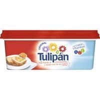 Margarina vegetal sin sal TULIPÁN, tarrina 250 g