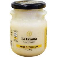 Arroz con leche LA ERMITA, tarro 275 g