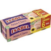Atún claro alto oleico ISABEL, pack 6x80 g