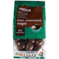 Delicias de almendra cubiertas de chocolate